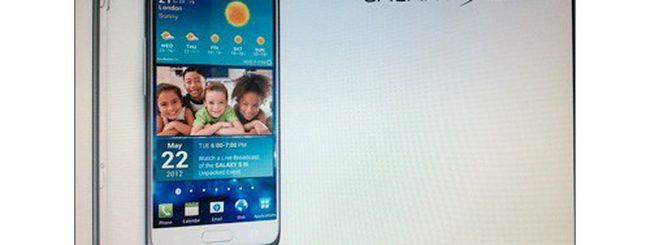 Samsung Galaxy S III, questo il design ufficiale?