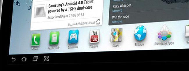 Samsung Galaxy Tab 2, confermati prezzo e uscita