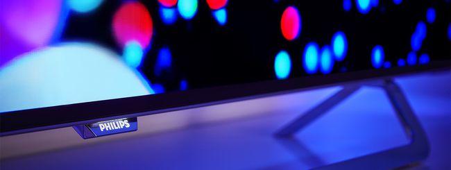 Philips Black Star 9002 OLED: 4K, HDR e Ambilight
