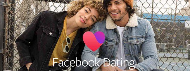Facebook lancia Dating per gli incontri romantici