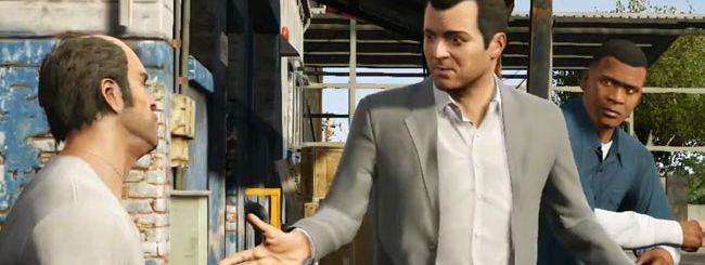 GTA 5: ecco il primo video del gameplay