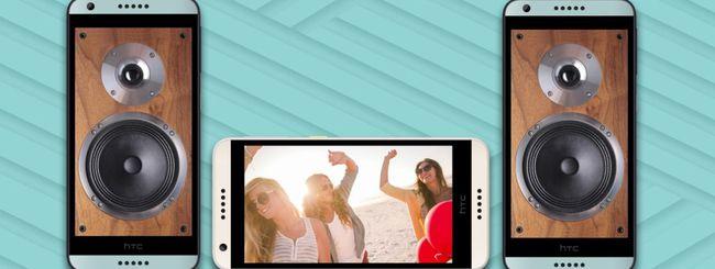 HTC annuncia il nuovo smartphone Desire 650