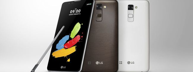 LG Stylus 2, phablet Android con pennino