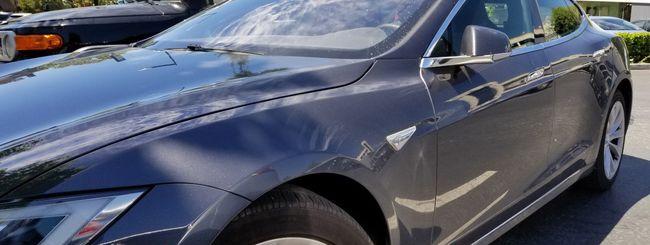Tesla Model S, rubarle era molto facile