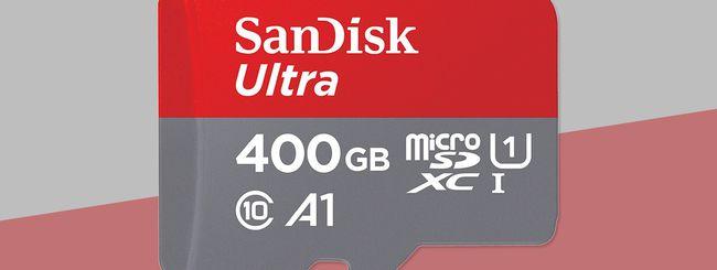 IFA 2017: SanDisk presenta una microSD da 400 GB