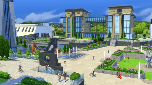 The Sims 4 Vita Universitaria