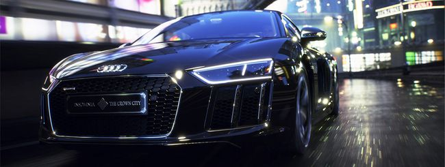 Audi R8 Star of Lucis, supercar di Final Fantasy