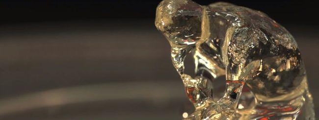 Stampa 3D, luce crea oggetti in un colpo solo