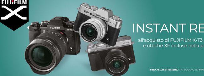 Fujifilm, promozioni su fotocamere ed ottiche