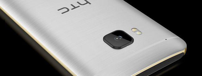 HTC One M10: design, specifiche e prezzo