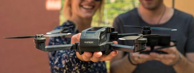 Yuneec Mantis Q, drone con comandi vocali