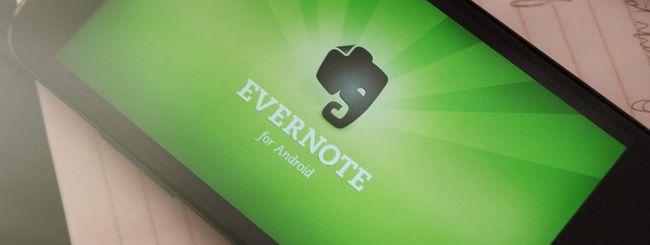 Evernote non leggerà le note degli utenti