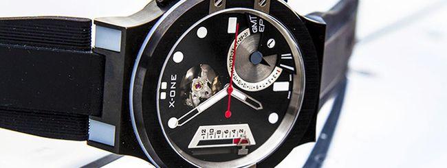 X-ONE H1, smartwatch ibrido con codice Morse
