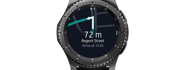 HERE annuncia WeGo per Samsung Gear S3