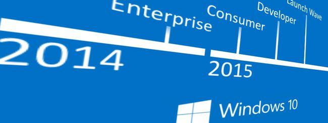 Windows 10 Consumer Preview, evento a gennaio