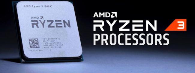 AMD Ryzen 3, la famiglia è al completo
