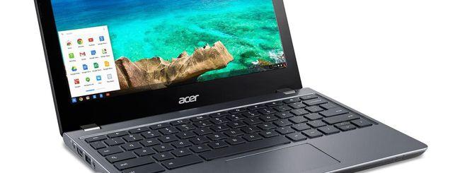 Acer annuncia due Chromebook per le scuole