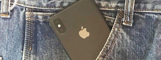 iPhone X in tasca: un privilegio per soli uomini