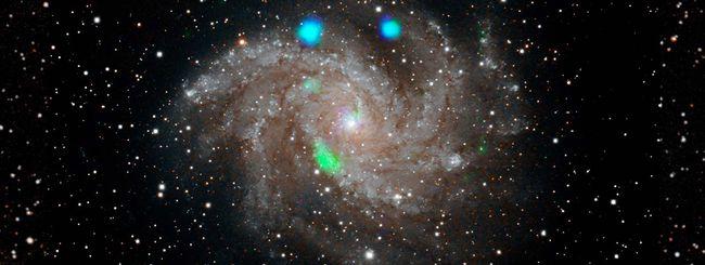 NASA osserva misteriose luci verdi nello spazio