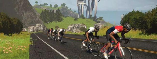 Il VR di Zwift fa allenare gli sportivi