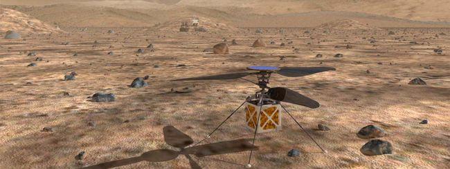 NASA: un drone elicottero per esplorare Marte
