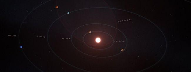 Scoperto nuovo pianeta con orbita mai vista prima