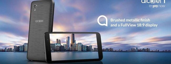 Alcatel 1, nuovo smartphone con Android Go
