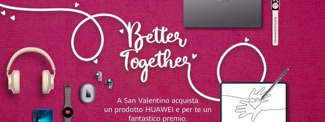Huawei lancia gli sconti di San Valentino