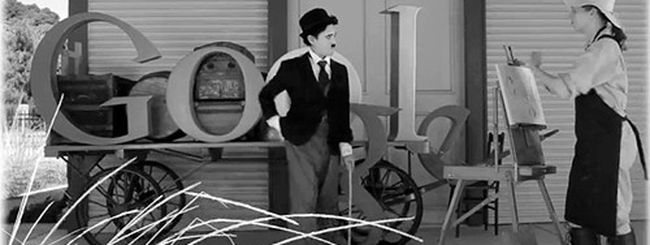 Google fa gli auguri a Charlie Chaplin