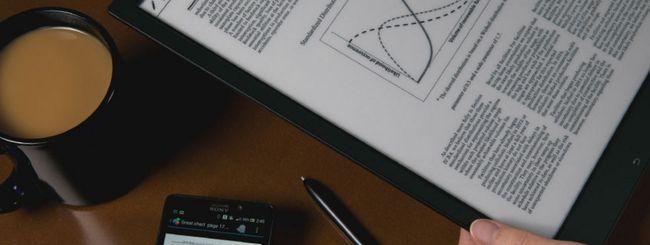 Sony Digital Paper, un vero block-notes digitale