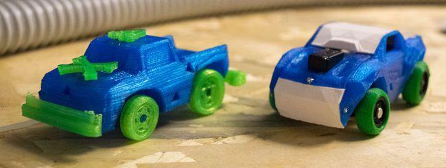 3DRacers: la stampa 3D per giocare a Km zero
