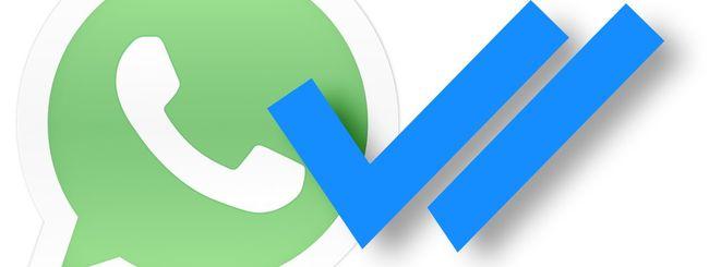 WhatsApp introduce la doppia spunta blu