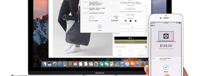 Apple Pay per Mac sbarca su Safari Preview 8 (da scaricare ora)
