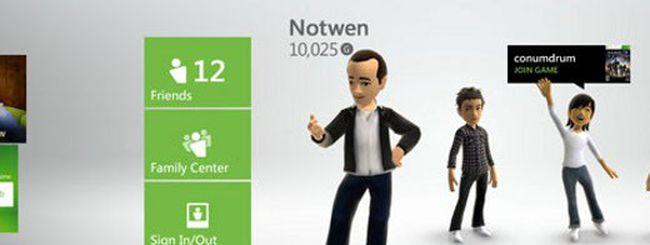 Xbox 360, il profilo rimane nel cloud storage
