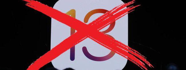 iOS 13, compatibile con iPhone SE ma non con iPhone 5s e iPhone 6