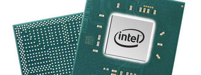 Intel annuncia nuovi processori Pentium e Celeron