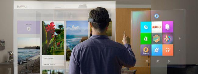 Microsoft Hololens: fino a 5,5 ore di autonomia