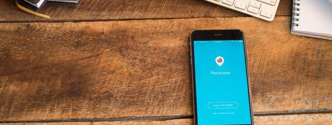 Twitter stacca la spina a Periscope: costa troppo