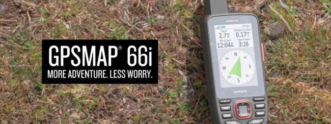 Garmin lancia il nuovo GPSMAP 66i