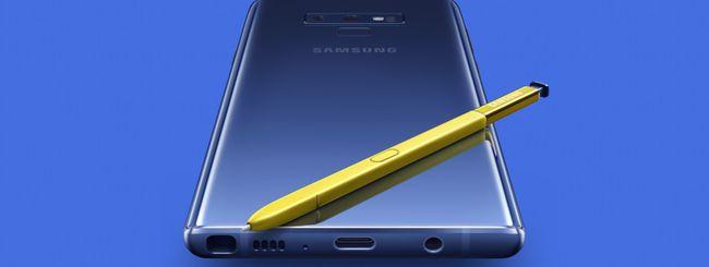 Android 10 disponibile per Samsung Galaxy Note 9