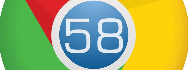 Chrome 58 in download su Windows, macOS e Linux