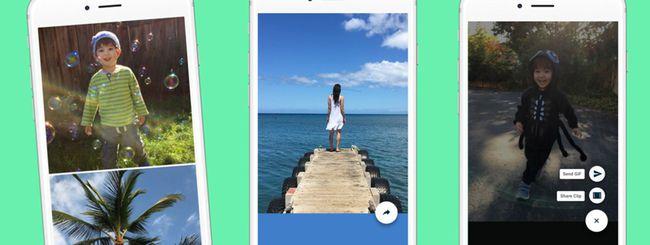 L'applicazione Motion Stills di Google su Android