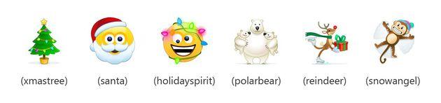 Skype emoticon Natale