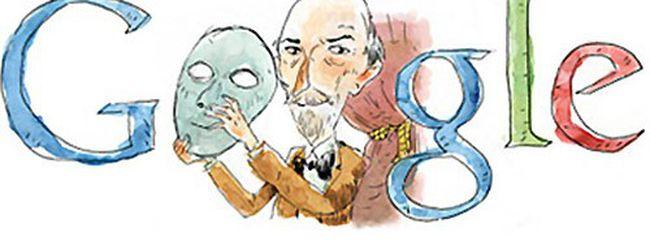 Luigi Pirandello celebrato con un Google doodle