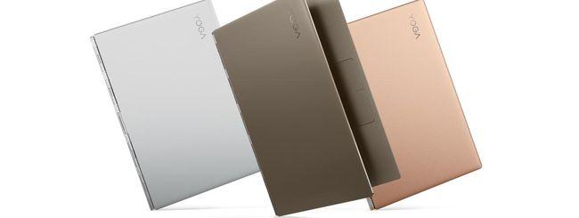 IFA 2017: Lenovo Yoga 920, Yoga 720 e Miix 520