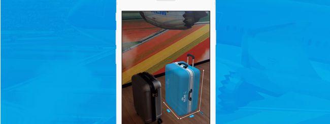 KLM, controllo del bagaglio a mano su Messenger