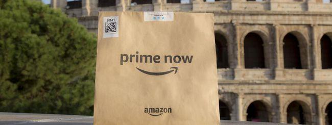 Amazon Prime Now a Roma si amplia con più prodotti