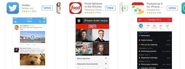 App Store, Apple testa i suggerimenti di ricerca delle app