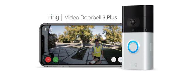 Ring lancia ufficialmente Video Doorbell 3 Plus