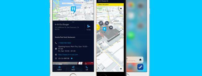 HERE Maps per iOS, nuove funzioni e 3D Touch